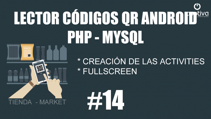 Crear activities y hacer fullscreen