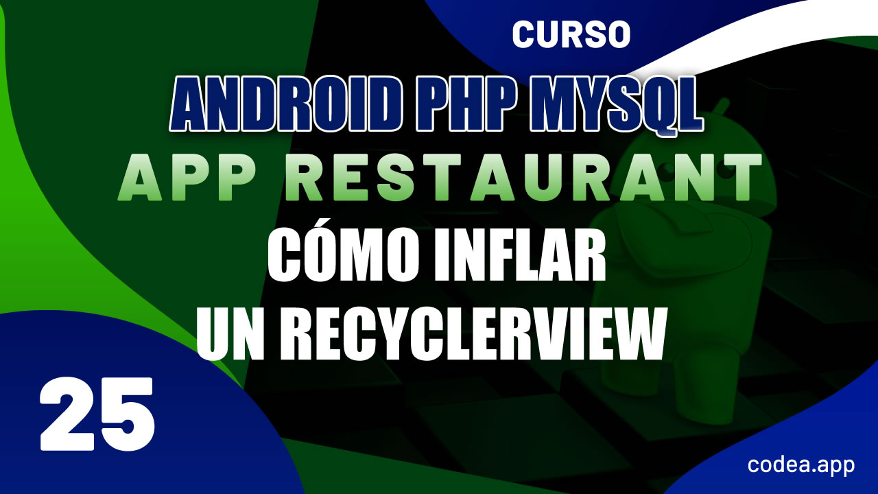 Inflar un Recyclerview con un Adapter