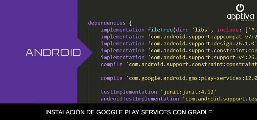 Instalación de Google Play Services