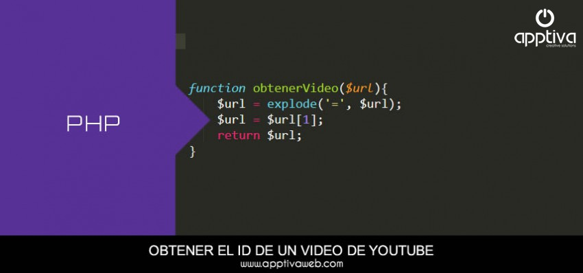 Obtener el ID de un video Youtube