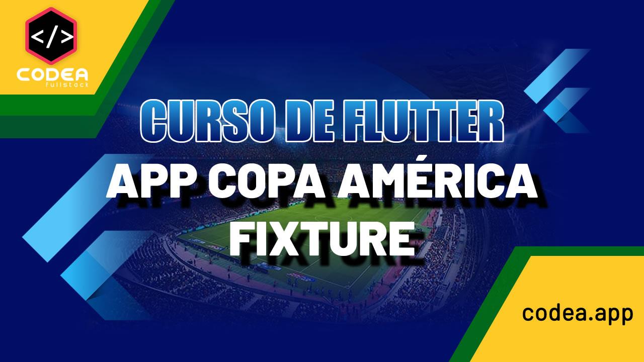 Flutter App Copa América