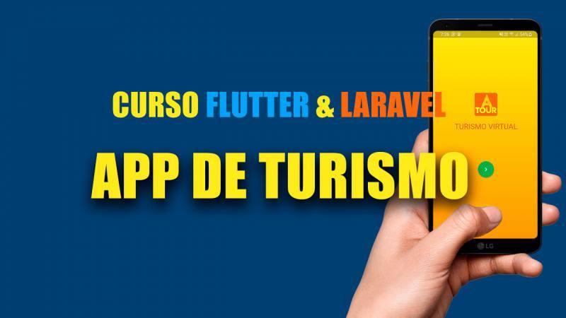 Flutter y Laravel App de Turismo