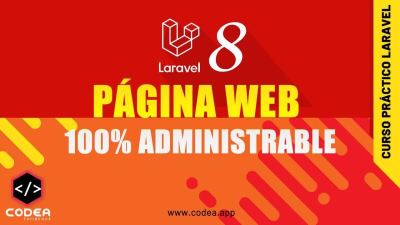Laravel Página Web Administrable