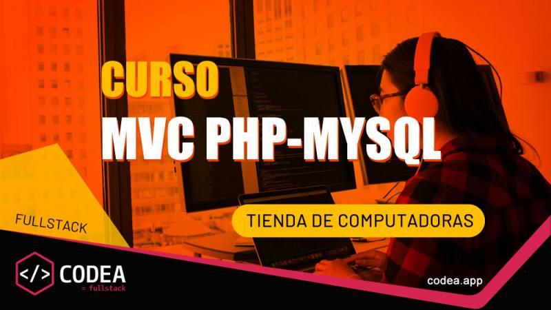MVC PHP MYSQL Tienda de cómputo