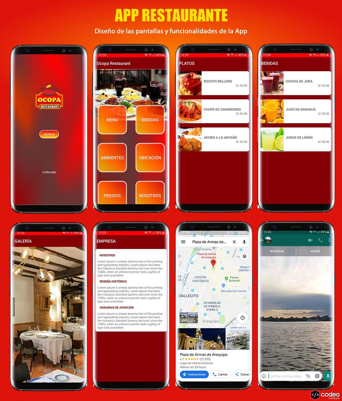 App para un Restaurante en Android